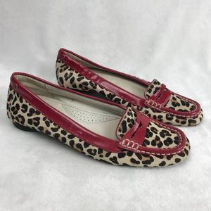 Sperry Top Sider Hayden Animal Print Shoe Loafer